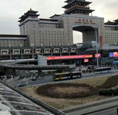 北京西站1000平米耐力板