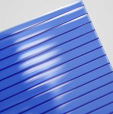 双层宝蓝pc阳光板